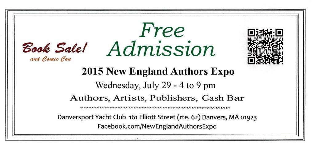 2015 New England Authors Expo