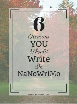 nanowrimo nano write