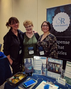 Satin Russell with Suzy Duffy and Lori DiAnni at NECRWA18